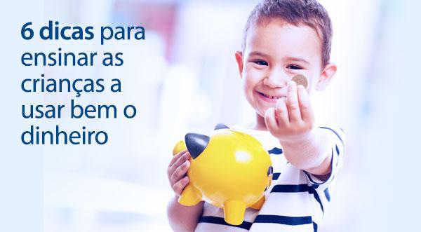 Educação financeira para crianças.
